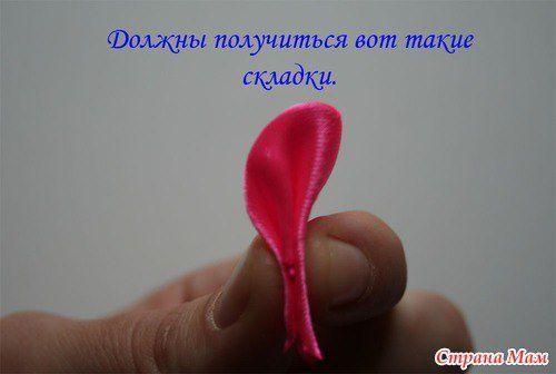 Fleur en tissu DIY (photos trouvés sur le net)