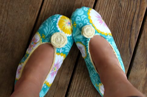 Coudre des chaussons DIY, tuto (vu sur la toile)