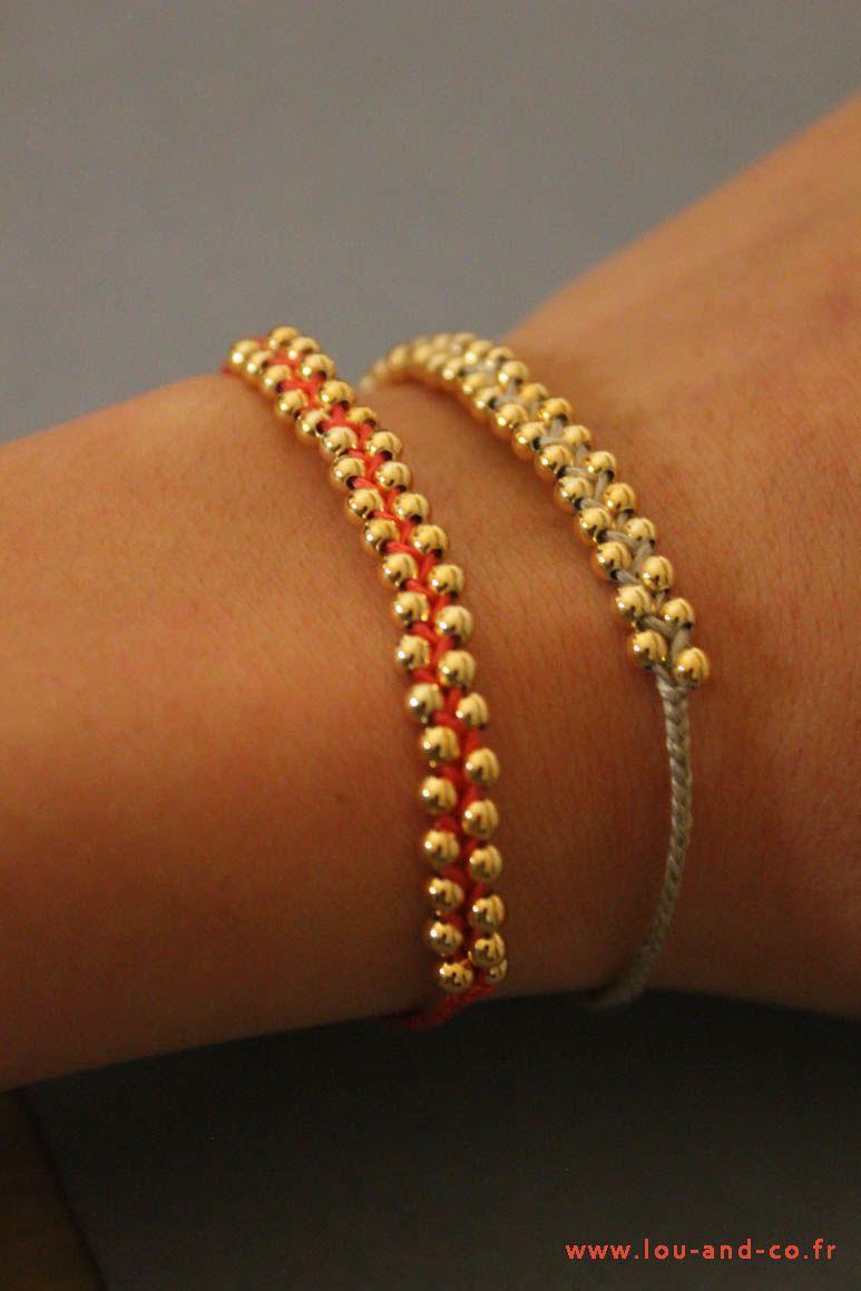Bracelet Tuto, DIY (vu sur la toile )