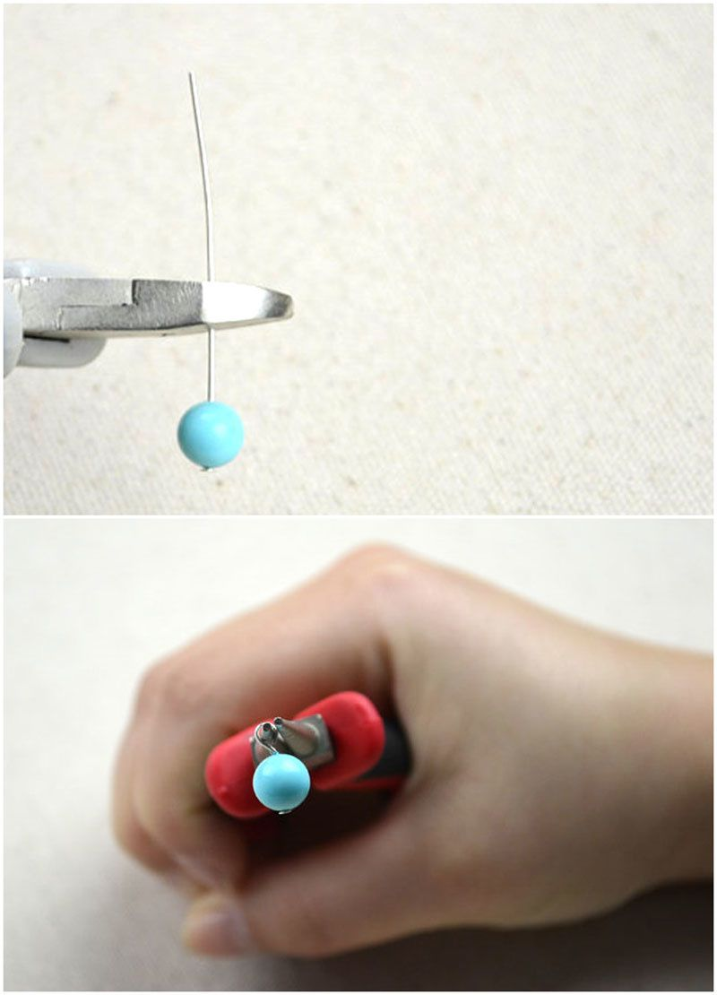 Bracelet DIY, tuto en photos vu sur internet