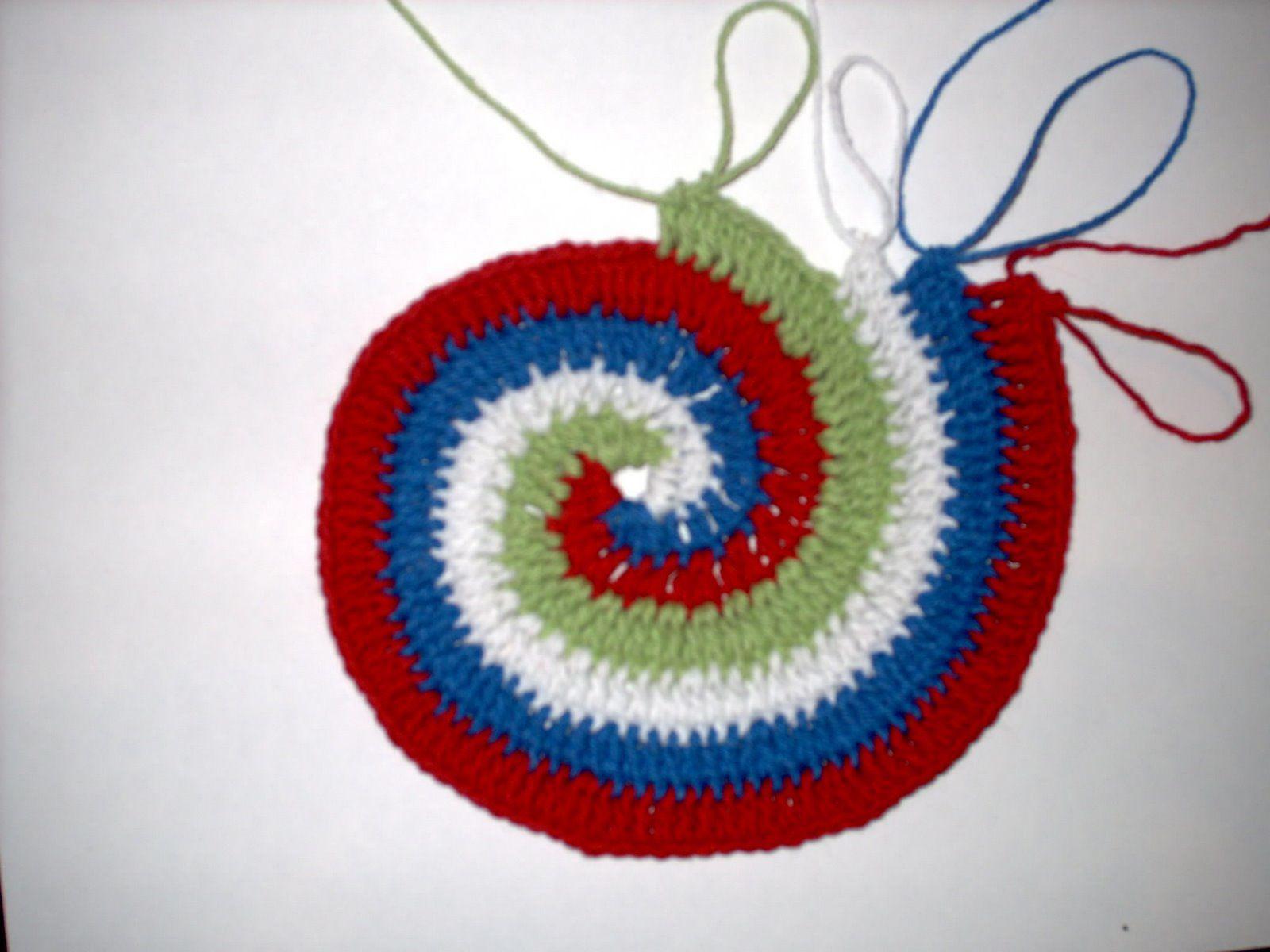 Un tapis au crochet