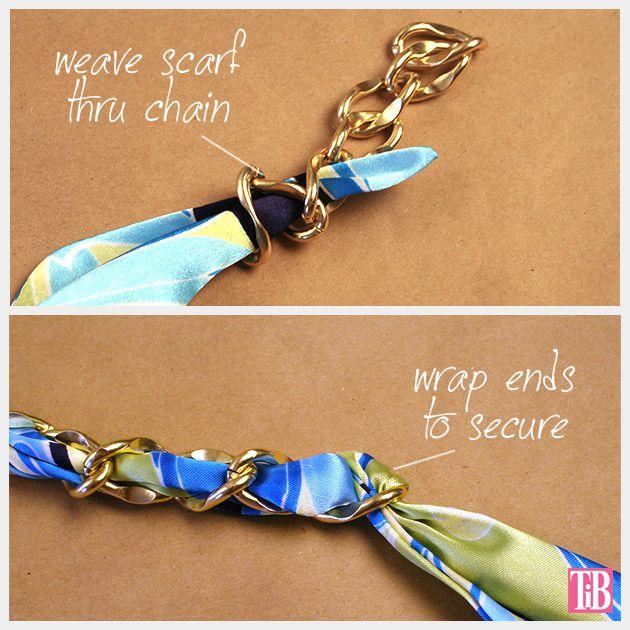 Bracelet avec ruban DIY et TUTO