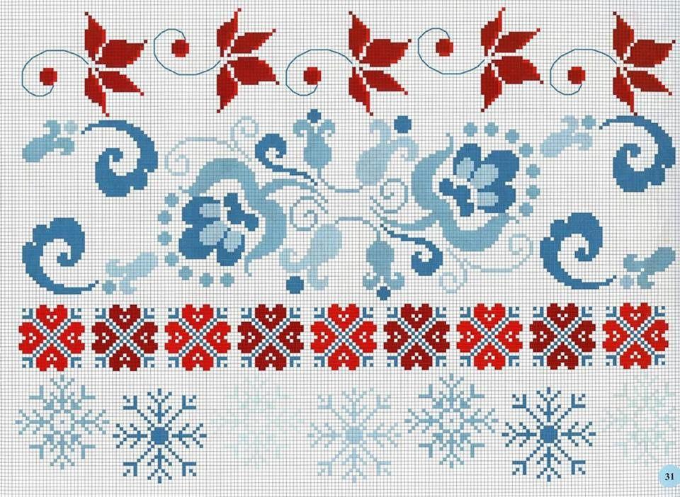 Broderies simples de roses et fleurs grilles &amp&#x3B; tutos