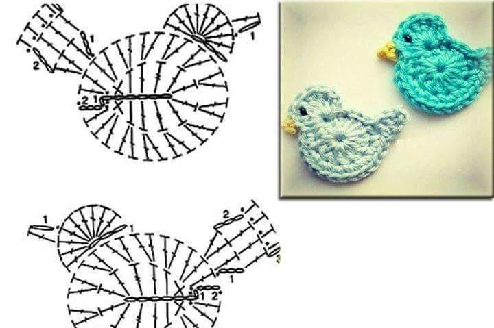Modèles de crochet avec leurs grilles