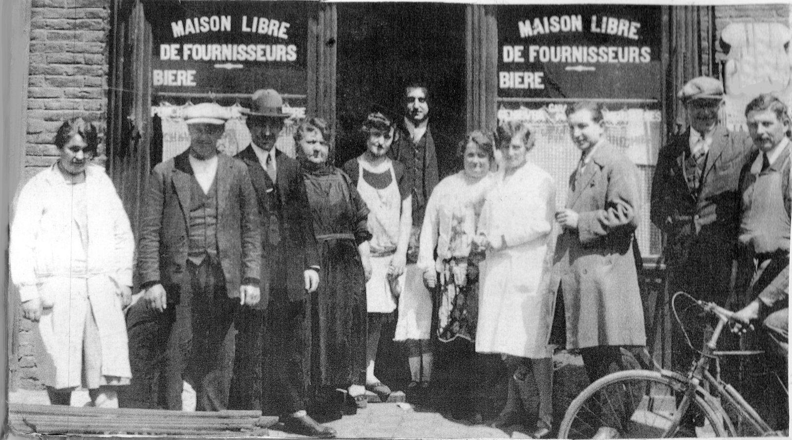 La façade en  mars 1931