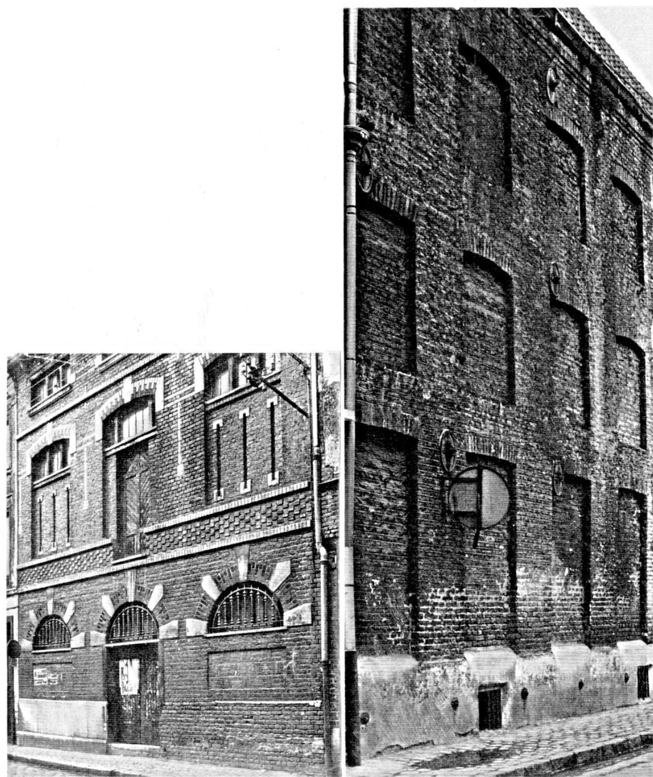 Vues de la Brasserie avant sa démolition dans les années 1975.