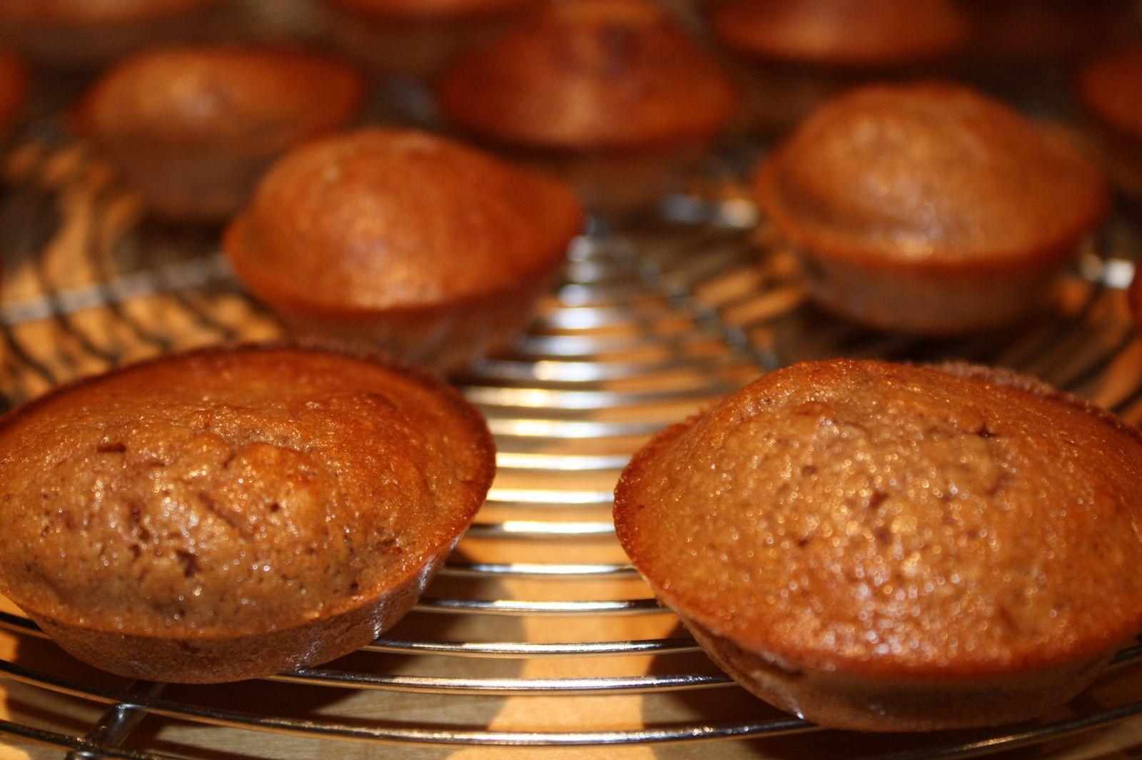 Petits moelleux à la crème de marron (recette express, sans gluten &amp&#x3B; sans lactose)