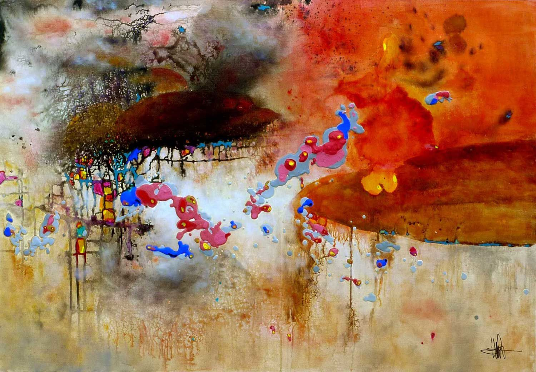 Robert desnos chant du ciel for Artiste art abstrait