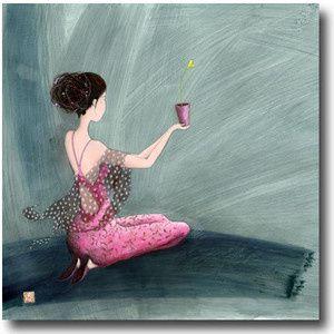 Gaëlle Boissonnard, Offrir un coeur, Carte postale.