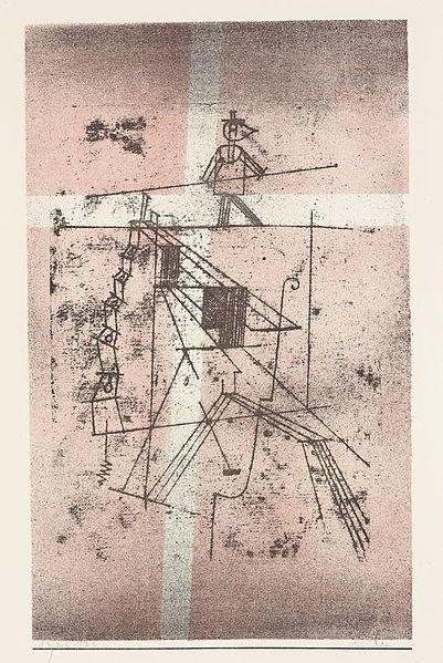 Paul Klee, Le funambule/ Seiltänzer, 1923.
