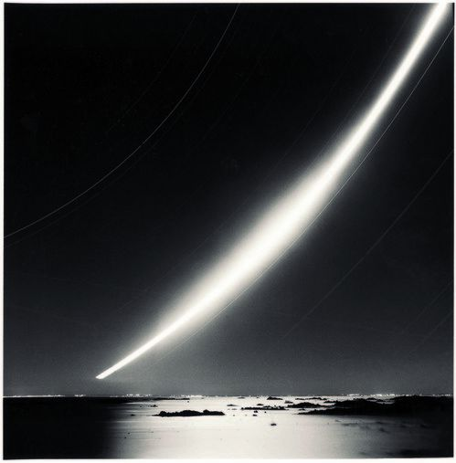 Michael Kenna, Full Moon Rise, Chausey Island, France, 2007.