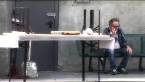 Solitude du metteur en scène sur le tournage