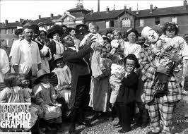 La troupe du clown à l'hôpital Hérold de Paris