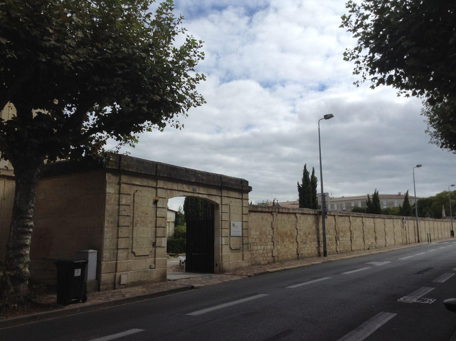 Le cimetière Protestant rue Judaïque à Bordeaux