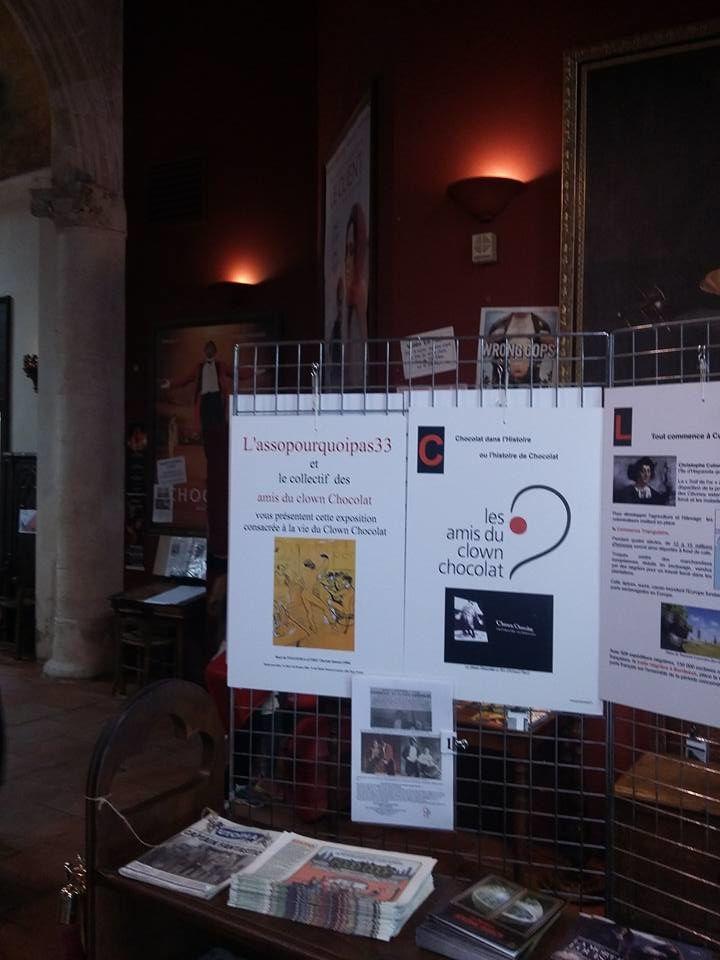 Une exposition sur sa vie vous est présentée dans le hall del'Utopia jusqu'au mercredi 9 novembre