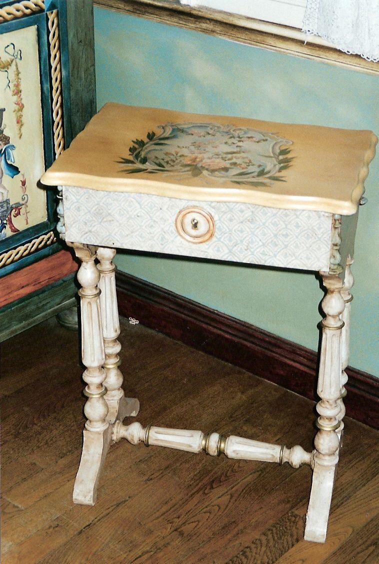 Les meubles peints astulad cors for Meubles peints technique