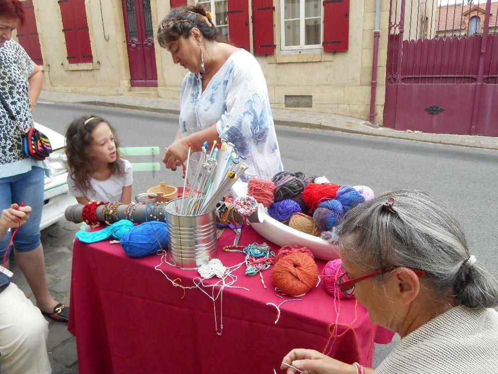 Châteaumeillant tricote