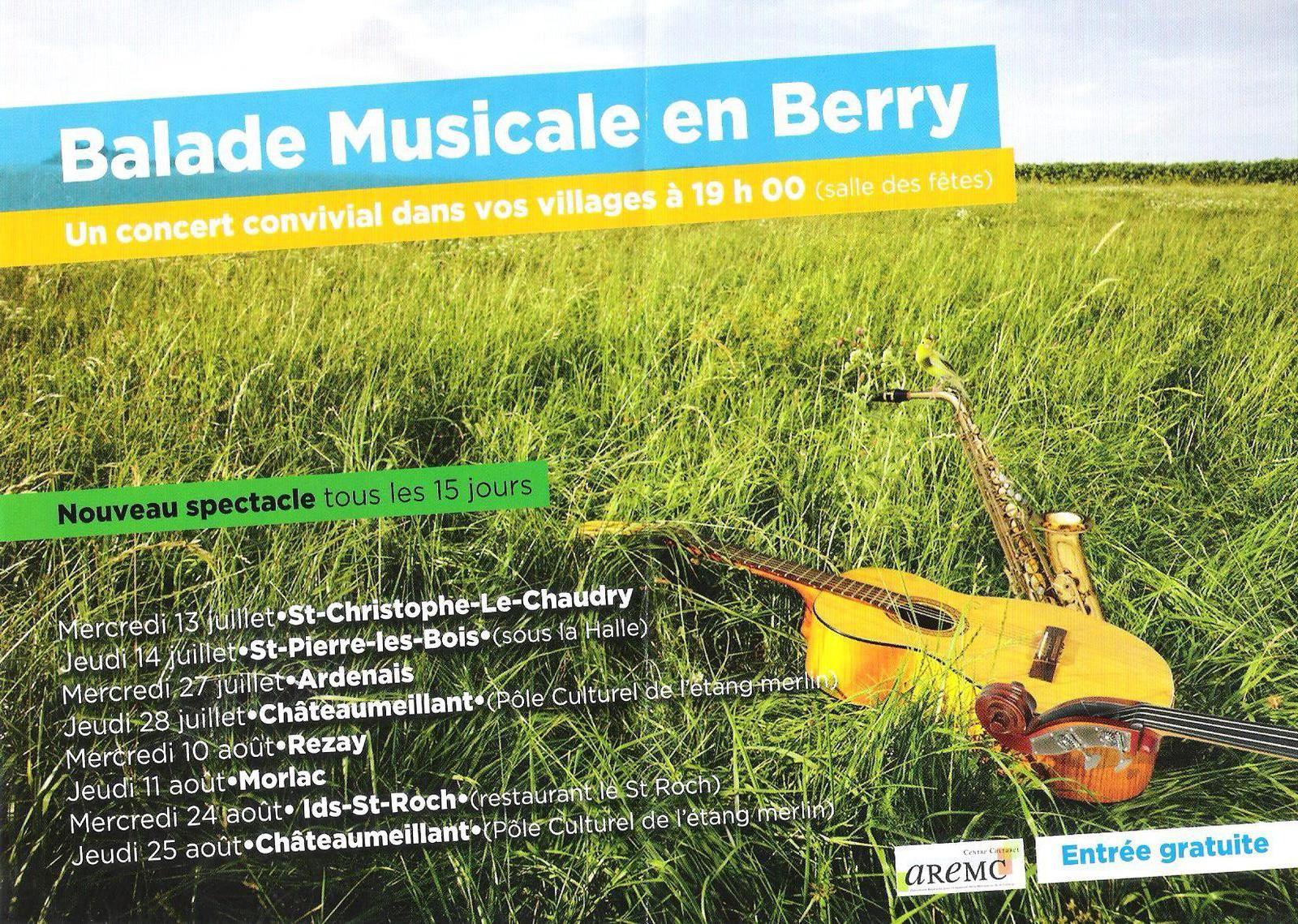 Le concert de l'AREMC à Châteaumeillant