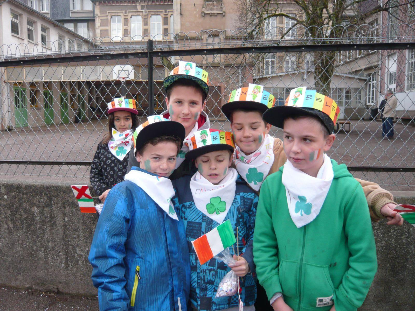 Carnaval aux couleurs de l'Irlande chez les CM
