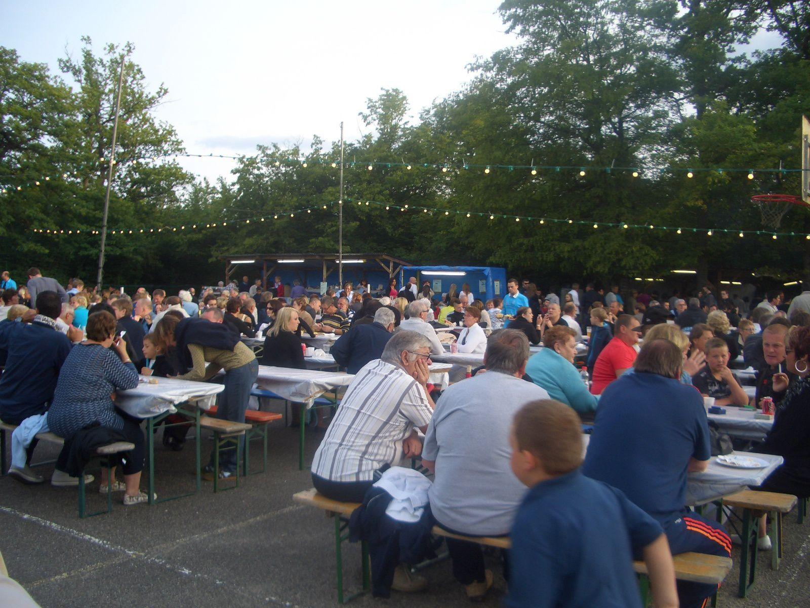 40 ème anniversaire de l'association foyer club Amélie 2  de Wittelsheim, le 30 juin 2013
