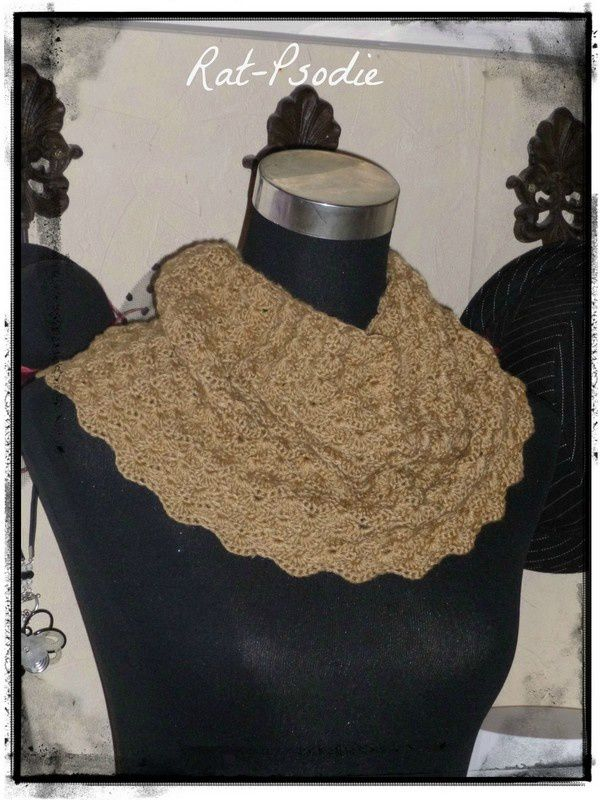 Snood caramel , Pdf !