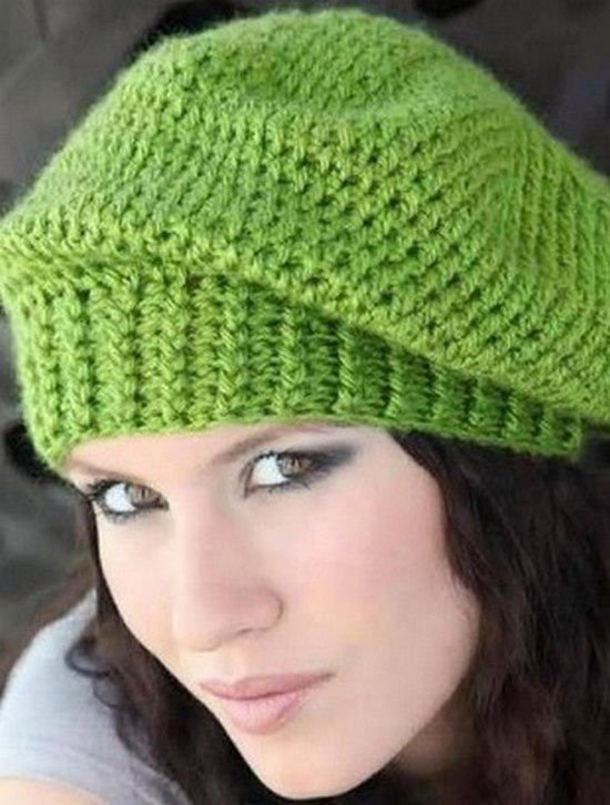 berets - Bonnets et Echarpes au Crochet 752b9cf38e2