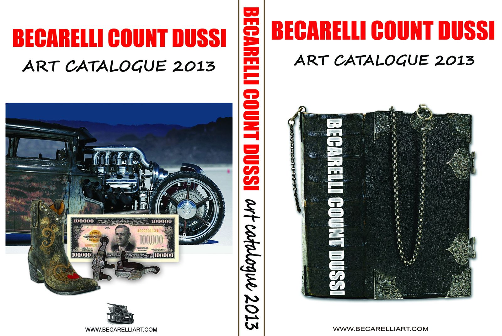 MY NEW ART CATALOGUE - 2013