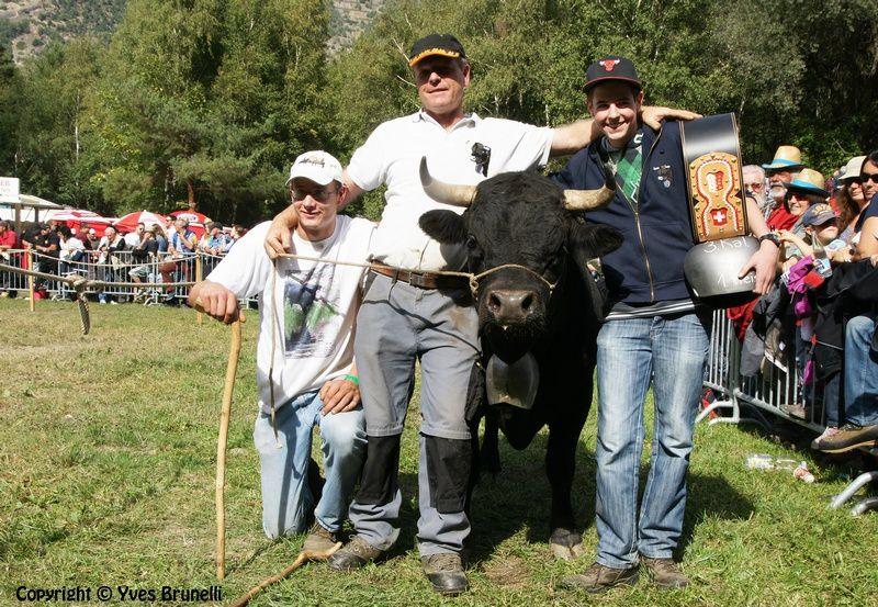 SURPRISE , reine de 3ème catégorie , cette vache est le veau de SULTANE du même propriétaire a Ivo et Angelo Fux