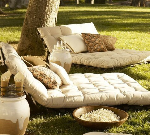 Lounging de Printemps.