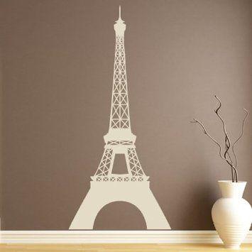 Stickers Tour Eiffel bleu. Amazon 39.94€