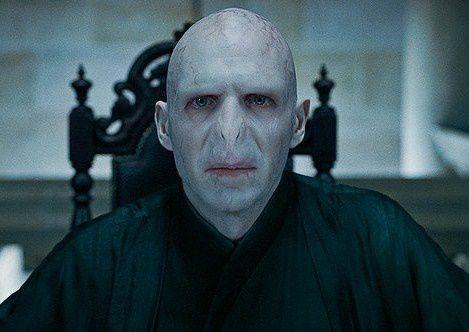 Voldemort (Ralph Fiennes) dans Harry Potter