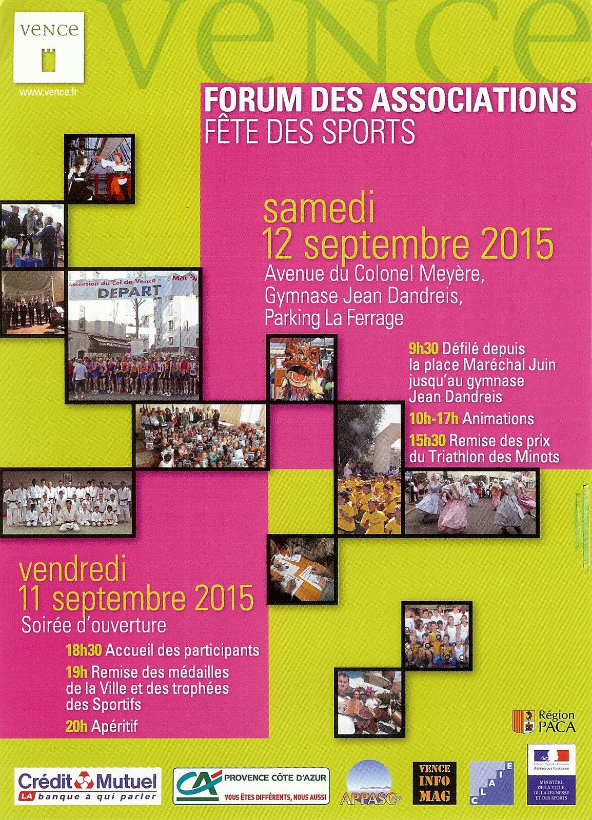 La Brissaudo au Forum des Associations de Vence le 12/09/2015