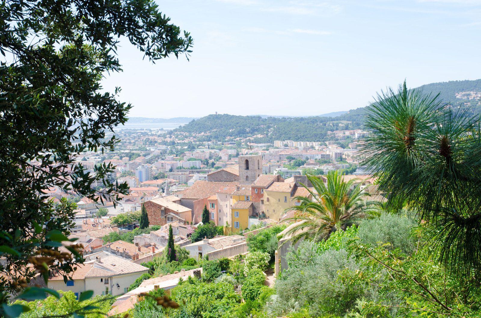 la ville de Hyères, Provence