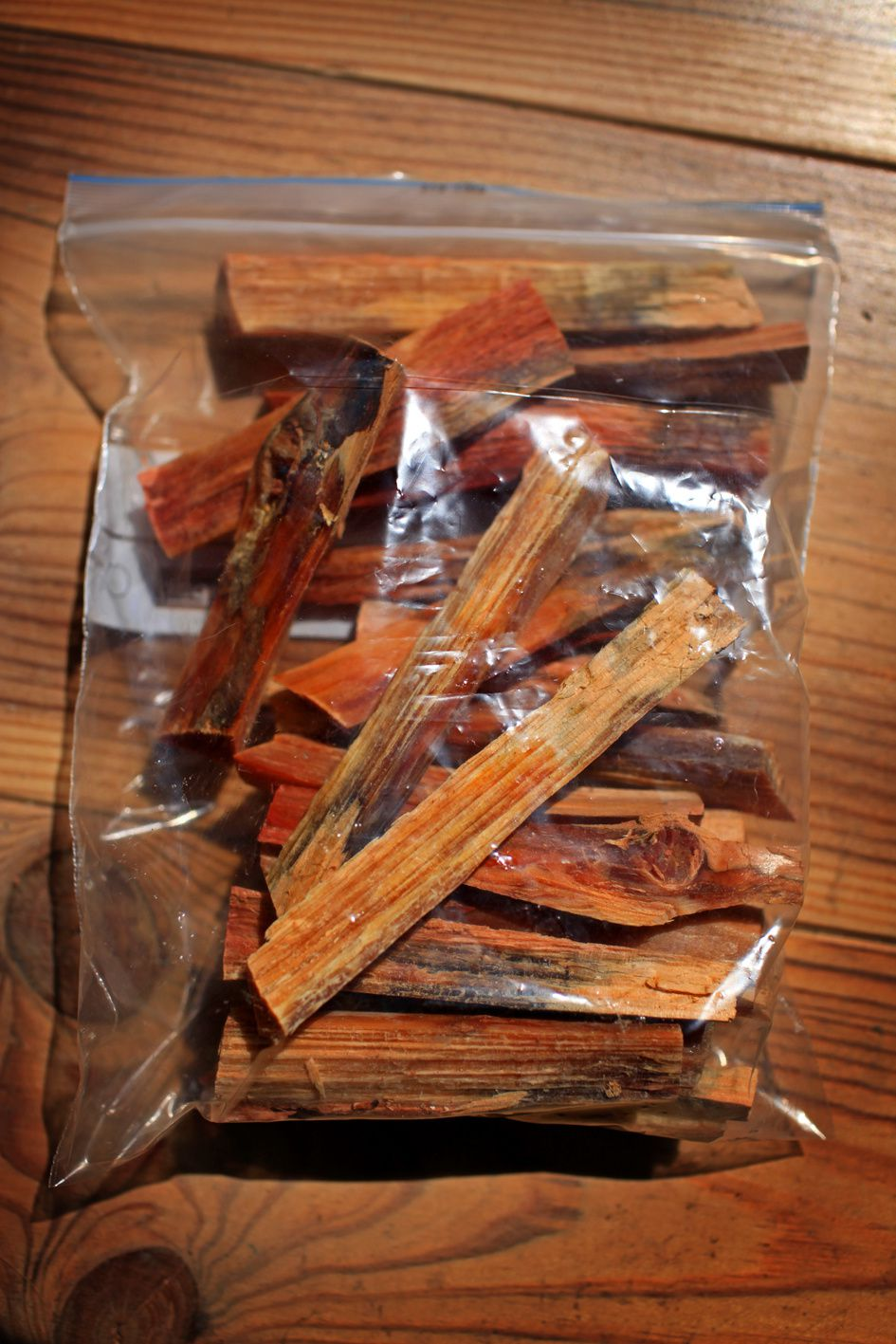 Le bois gras peut vous sauver la vie.