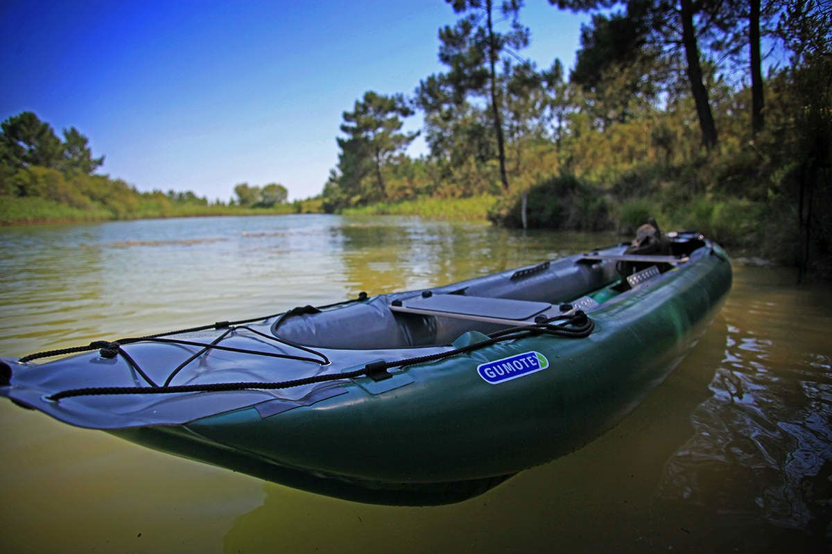 Test cano gumotex palava a r t survie - Test kayak gonflable ...