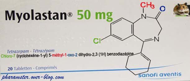 SUPPRESSION DU TETRAZEPAM (MYOLASTAN°)