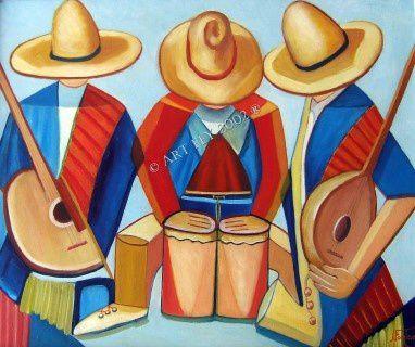 Le trio mexicain / The Mexican trio