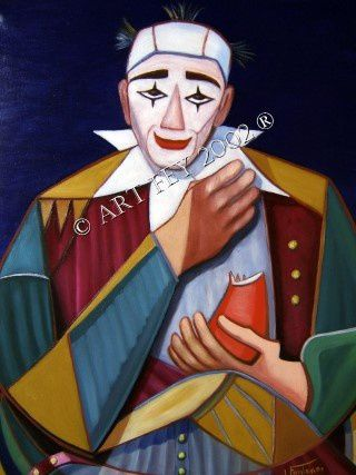 Les larmes d'un clown / Tears of a clown