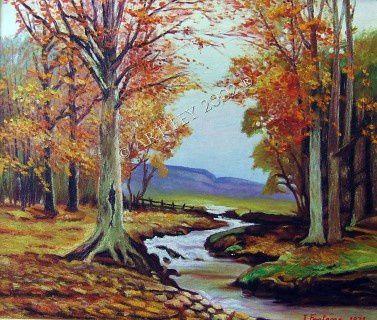 La forêt et sa riviére / The forest and its river