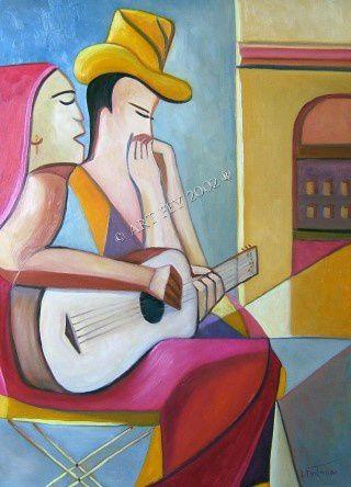 Le couple de musicien / The couple of musician