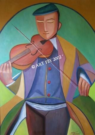 La poésie du violoniste / Poetry violinist