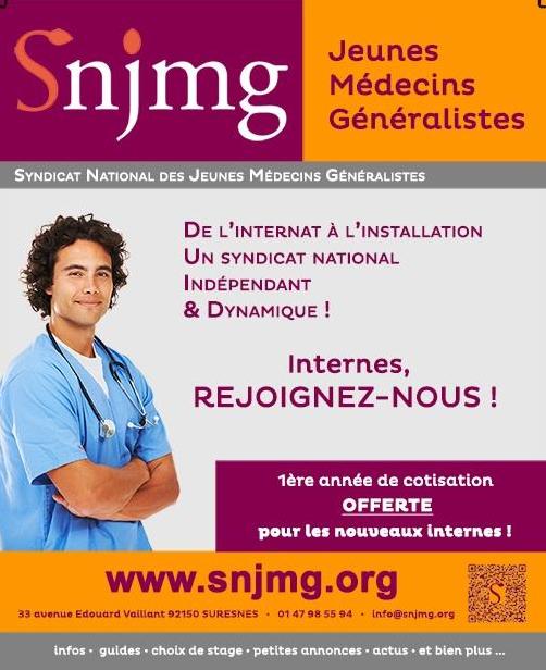 Le SNJMG accueille les nouveaux Internes de Médecine Générale 2014