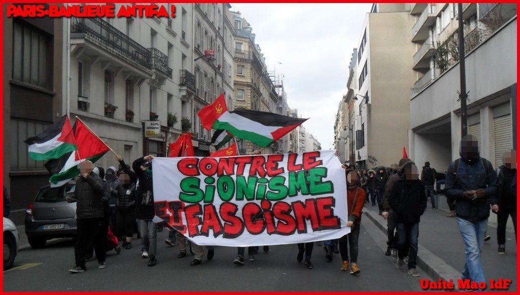 Paris-Banlieue Antifa ! Compte-rendu de la manif antifasciste du dimanche 9 février