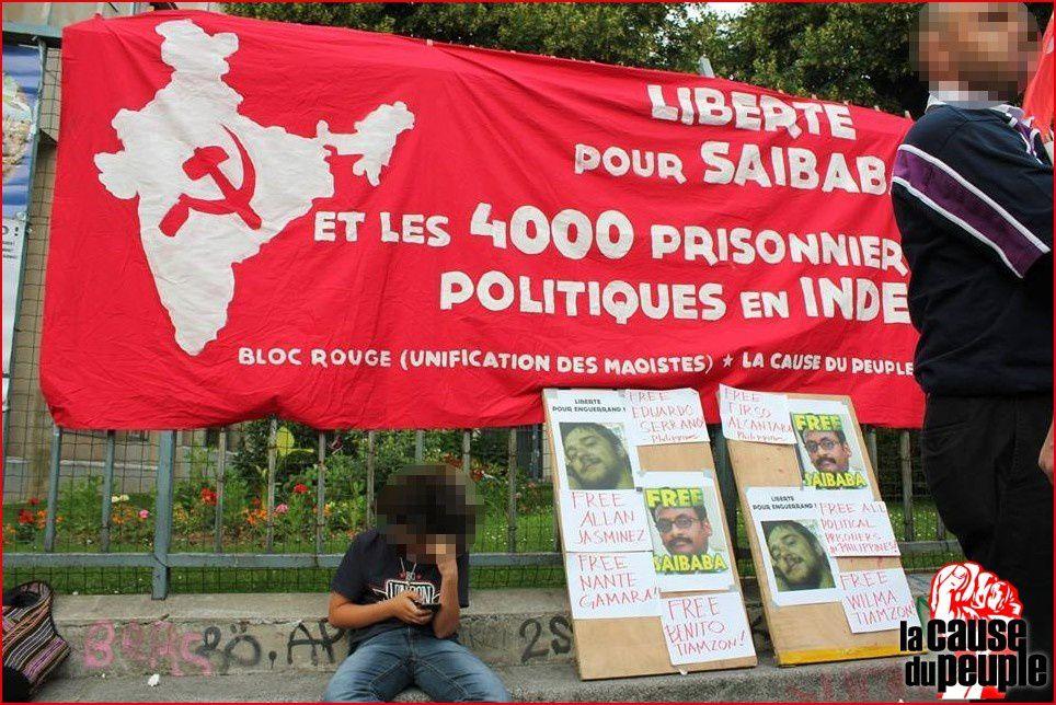 Journée internationale des prisonniers politiques à Paris