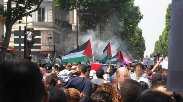 Sur l'interdiction de la manifestation en soutien au peuple palestinien en Ile de France