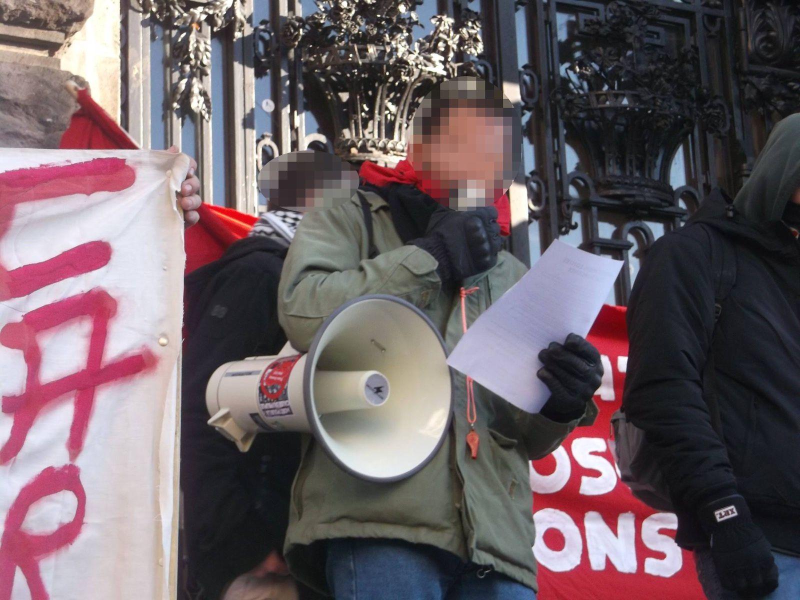 Clermont-Ferrand : Sur la manif contre l'Etat d'Urgence