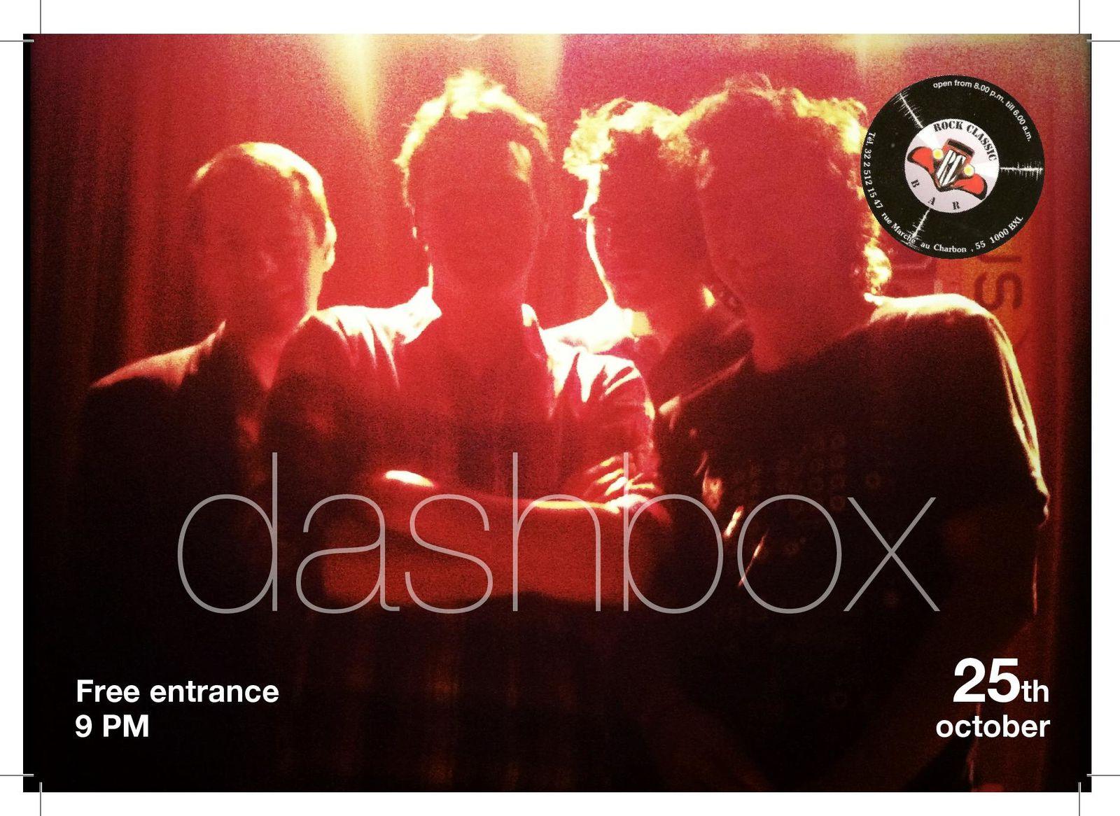 Dashbox @ Rock Classic - 25 octobre 2013