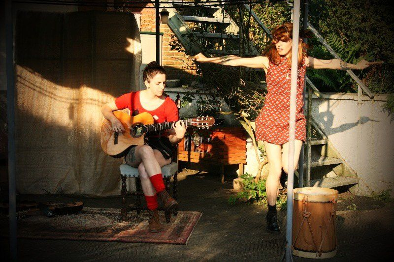 Lucy Patane & Marina Fages (Arg) @ Home concert (Stockel) - 01/06/2014