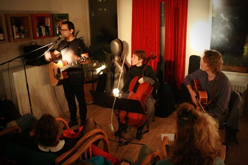 Lonh @ Home concert (Uccle) - 21/11/2014