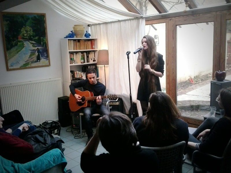 Laura Crowe @ Home concert (Boitsfort) - 22/02/2015
